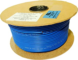 SHAMROCK CONTROLS UL1015-16AWG-BLUE-500 FT UL 1015 Stranded Copper Wire, 16 AWG, 600V, 500', RAL 5015 Color Code, Blue