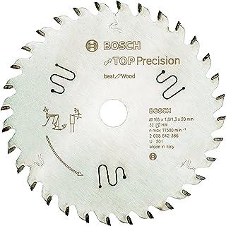 Bosch Professional Cirkelsågblad Top Precision Best för Wood, 165 x 20 x 1,8 mm, 32, 2608642386
