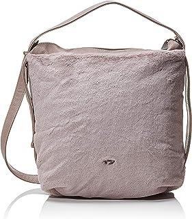 Fritzi aus Preussen Damen Anni Fur Schultertasche Violett (Lavender Stone), 12x36x37 cm (w x h x l)