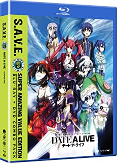 Date a Live: Season One - S.a.V.E. [Blu-ray] [Import]