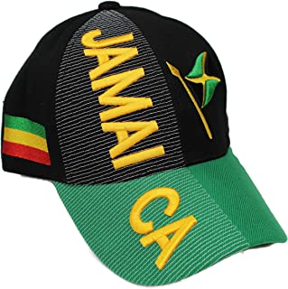 """""""Nations of North America Hat Collection"""" 3D Embroidered Adjustable Baseball Cap Includes 1-Year Warranty"""