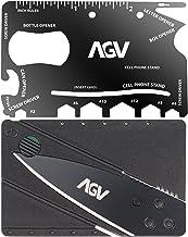 2-en-1 Combo Pack AGV Navaja de Cartera Tarjeta de Crédito | AGV 18 en 1 Tarjeta Multiherramientas Para Cartera | Navaja d...
