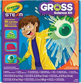 Crayola Gross Science Kit for Kids, Educational Toy, Gift for Kids, 8, 9,10,11