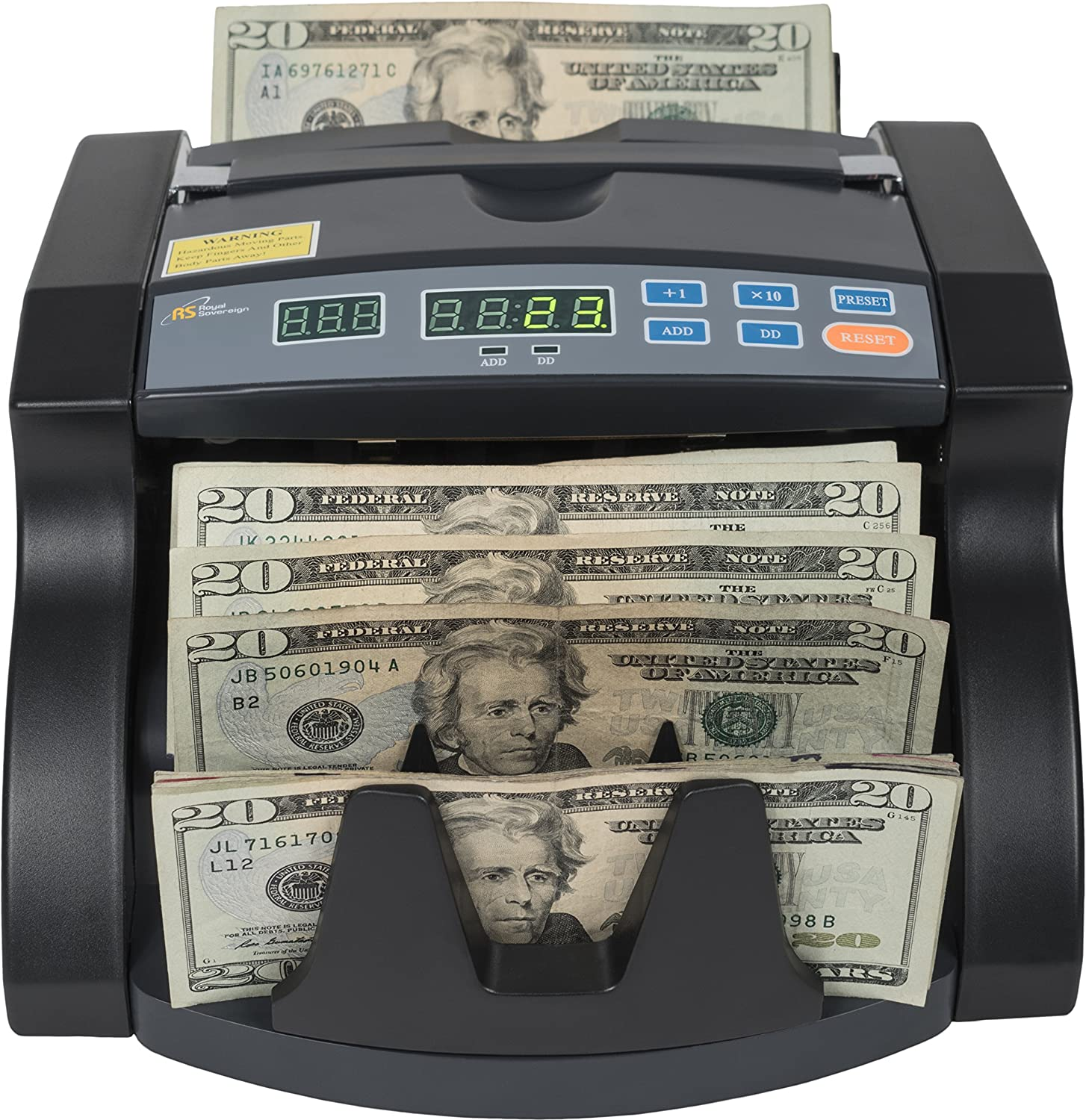 specialty shop Royal Sovereign High Excellent Speed Bill Counter Lo Dollar Rear With