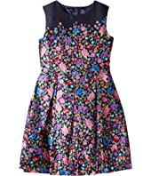 Oscar de la Renta Childrenswear - Chine Garden Mikado Party Dress (Toddler/Little Kids/Big Kids)