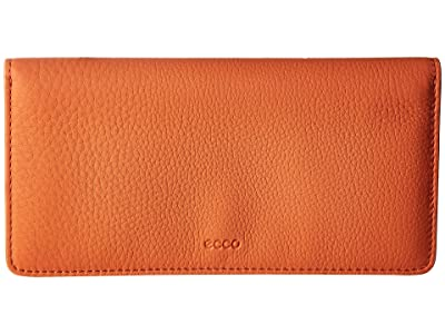 ECCO Jilin Large Wallet (Arancio) Wallet Handbags