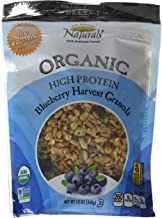 New England Natural Organic High Protein Blueberry Harvest Granola, 12 Ounce -- 6 per case.