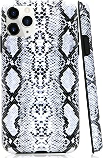 iPhone 11 Pro Max Case, Lartin Soft Flexible Jellybean Gel Case for iPhone 11 Pro Max 6.5 inch 2019 (Cool Snake Skin)