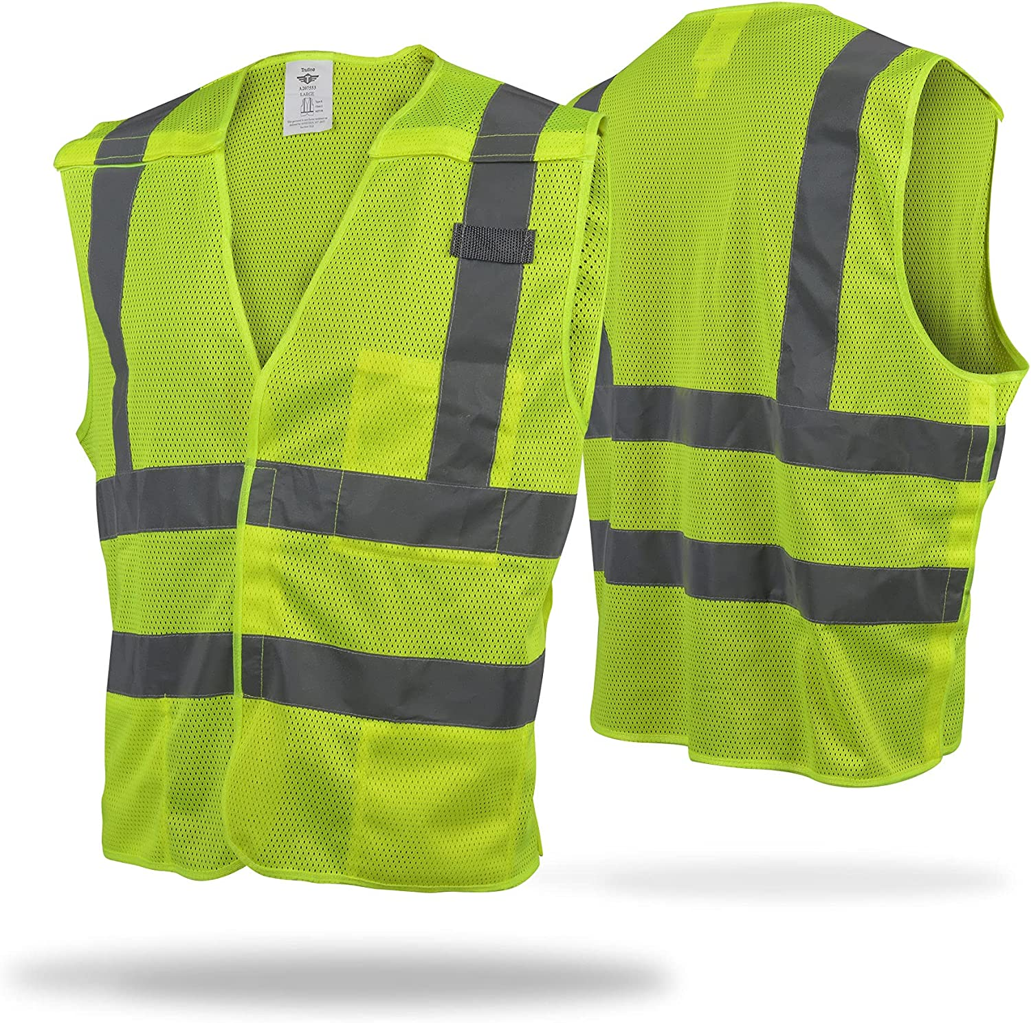 Safety Vest High New popularity Visibility - with 3 Vis Pocket 2021