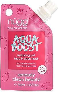 n�gg Aqua Boost Hydrating & Moisturizing Gel Facial Treatment for dry, dehydrated, sensitive skin, 1.1 OZ (New Larger Size)