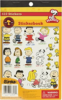 Eureka Peanuts Sticker Book