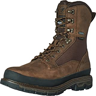 "حذاء صيد Ariat Men's Conquest بمقدمة مستديرة 8"" GTX 400جرام"