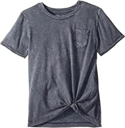 Short Sleeve Knotted Tee (Big Kids)