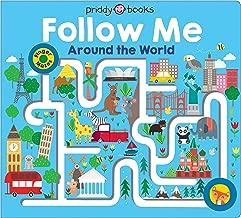 Maze Book: Follow Me Around the World (Finger Mazes)