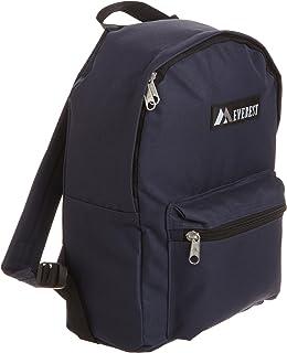 Everest Luggage Basic Backpack, Navy, Medium