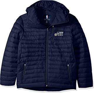 G-III Boys' Equator Quilted Jacket, Navy, Small