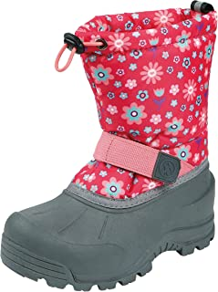 Northside Girls' Frosty Snow Boot, Fuchsia/Coral, 5 Medium US Toddler