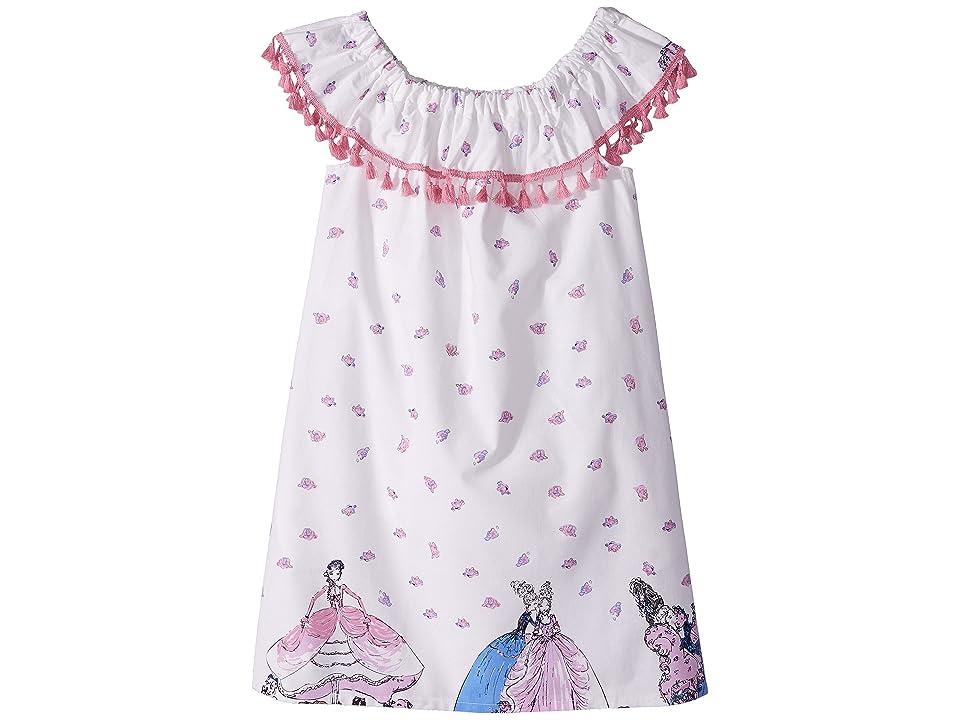 fiveloaves twofish Marie On/Off Dress (Little Kids/Big Kids) (White) Girl