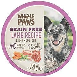 Whole Paws Grain Free Premium Dog Food, Lamb Recipe, 3.5 Oz