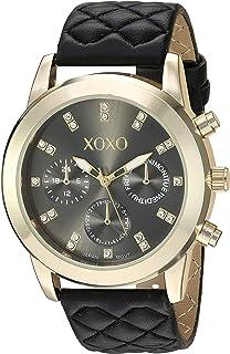 اكس او اكس او للنساء ساعة كوارتز انالوج و سوار جلد XO3498
