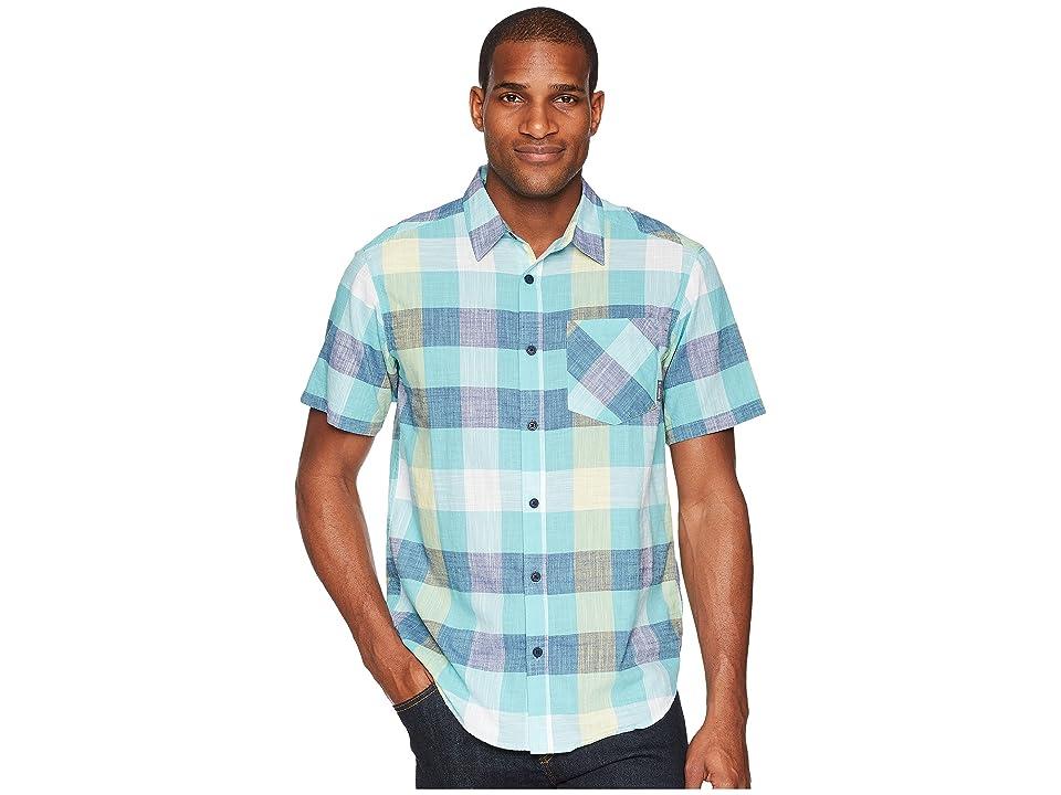 Columbia Katchortm II S/S Shirt (Carbon Large Check) Men