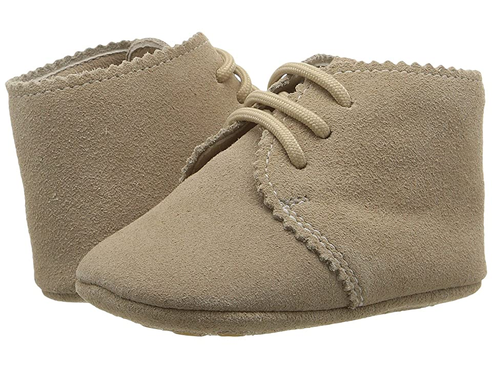 Elephantito Scalloped Bootie (Infant/Toddler) (Sand) Girls Shoes