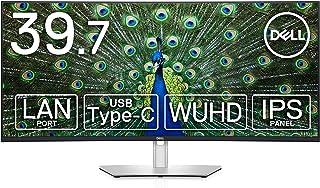 Dell 曲面モニター 39.7インチ U4021QW(3年間無輝点交換保証/sRGB 100%,Rec.709 100%,DCI-P3 98%/フレームレス/USB-C/LANポート(RJ45)/WUHD/5K2K/IPS非光沢/Thunde...