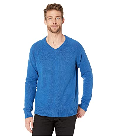 Lucky Brand Vista V-Neck Sweater (True Blue) Men