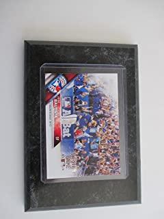 Limited Edition All Star Game 2016 Jose Bautista Toronto Blue Jays 4x6 player card mounted on a black marble wooden plaque