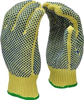 G & F 1670M Cut Resistant Work Gloves, 100-Percent Kevlar Knit Work Gloves, Make by DuPont Kevlar, Protective Gloves to Se...