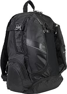 Eastsport Deluxe Mutli-Zip Backpack, Black