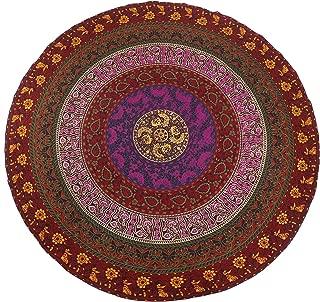 Best round cotton tablecloths Reviews