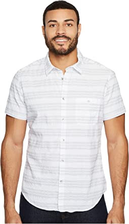 Calvin Klein Jeans - Textured Stripe Button Down Shirt