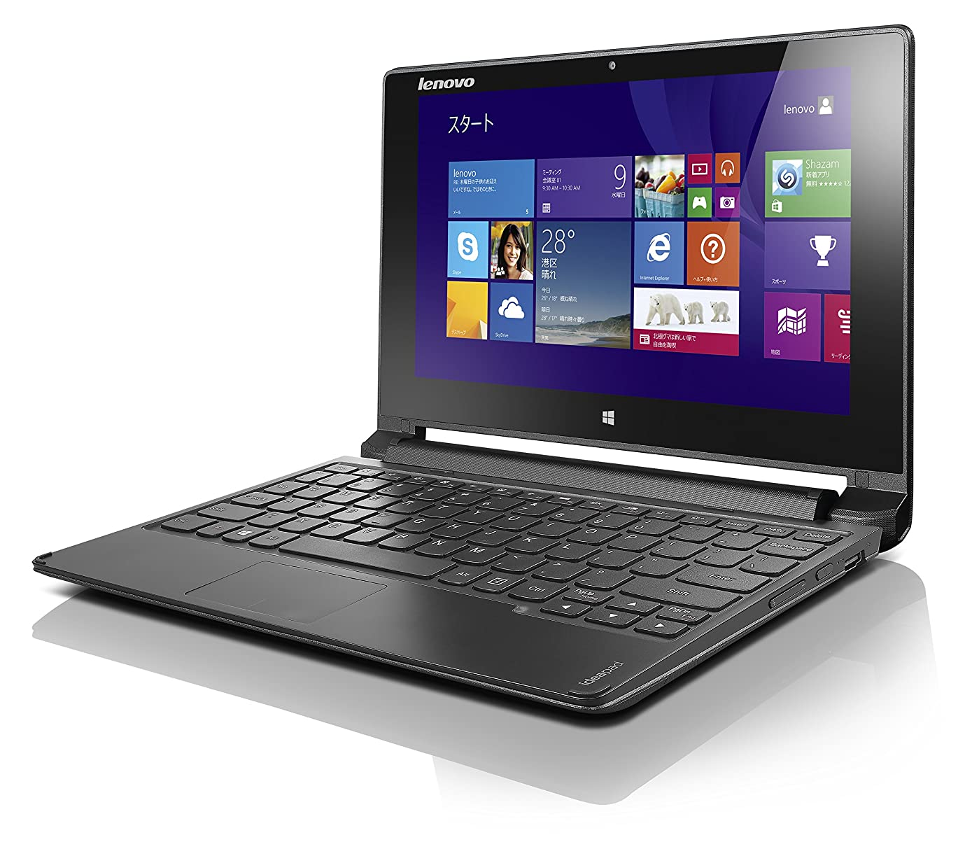ビームバトル演じるLenovo ノートパソコン IdeaPad Flex 10 Bing(Windows 8.1 with Bing 64bit/Office Home & Business 2013/10.1型/Celeron N2840)59434767