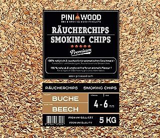 Pini, trucioli di legno di faggio, 5 kg, 4-6 mm, trucioli di affumicatura