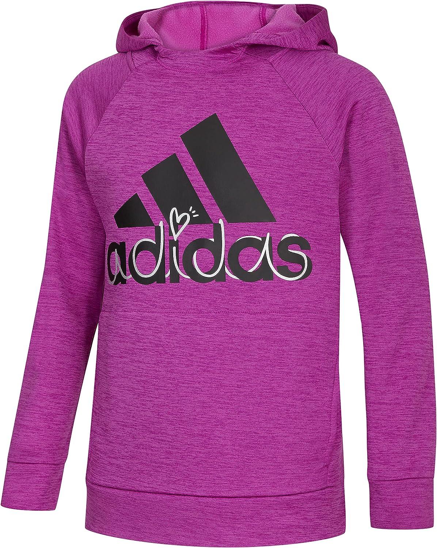 adidas Girls' Event Mélange Hoodie
