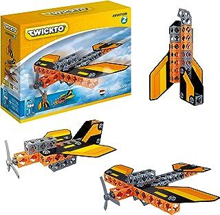 Aviation 2 Bricks & Twicks Specials Twicks Specials Twicks 46 sztuk 3 w 1 lanca retlop, kapelusze Spacestplane
