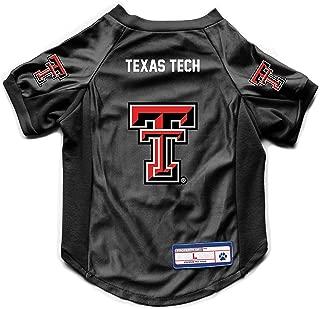 Littlearth NCAA Texas Tech Red Raiders Pet Stretch Jersey, Medium