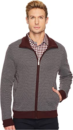 Perry Ellis - Regular Fit Geo Jacquard Bomber