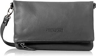 Stitch & Hide Women's Piper clutch bag Cross-Body Handbags, Charcoal, One Size