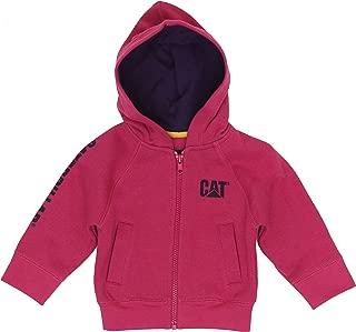 Caterpillar Infant Trademark Banner Zip Sweatshirt - Girls
