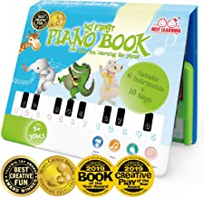 BEST LEARNING My First Piano Book - Educational Musical Toy for Toddlers Kids Ages 3 Years and up - Ideal Gift for Boys and Girls