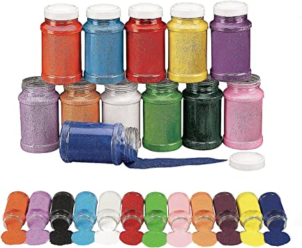 Red Choose A Color Black Pink Colorful Craft Sand Blue Orange Green Red White Purple