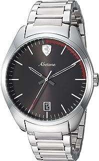 Ferrari Men's 'Abetone' Quartz Stainless Steel Casual Watch, Color Silver-Toned (Model: 0830502)