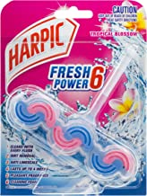Harpic Fresh Power Toilet Block Cleaner, Tropical Blossom, 39g