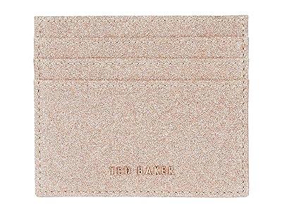 Ted Baker Bbblake Card Case (Rose Gold) Wallet Handbags