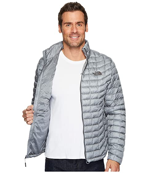The ThermoBall North Mid Face Grey Chaqueta a07xawrq