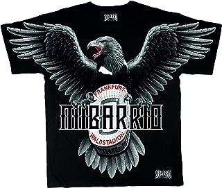 Mi Barrio Adler WALDSTADION Herren T-Shirt Attila !!! Achtung Shirt FÄLLT 1NUMMER GRÖSSER AUS !!!