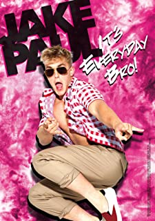 Trends International 8.25x11.75 MDF - Jake Paul - Jump Wall Poster, 8.25