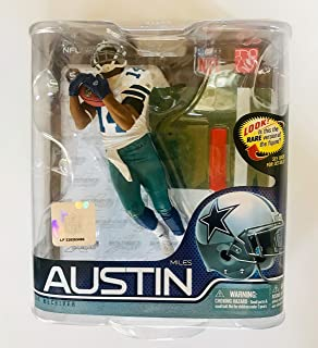 McFarlane Toys NFL Series 27 GOLD Collector Level Miles Austin